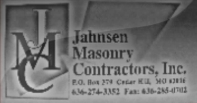 Jahnsen Masonry Contractors, Inc.